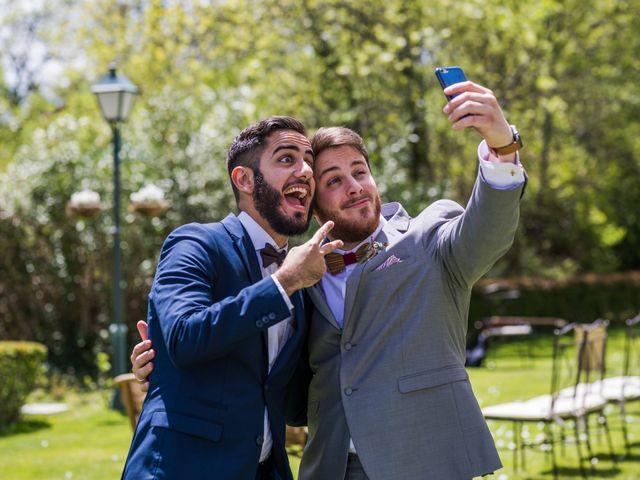 La boda de Pablo y Nora en El Escorial, Madrid 52