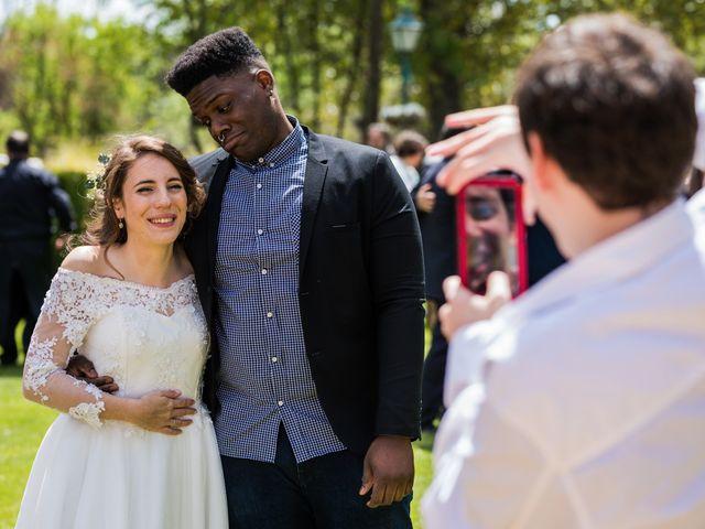 La boda de Pablo y Nora en El Escorial, Madrid 53