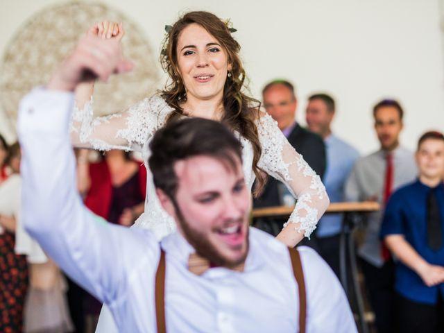 La boda de Pablo y Nora en El Escorial, Madrid 73