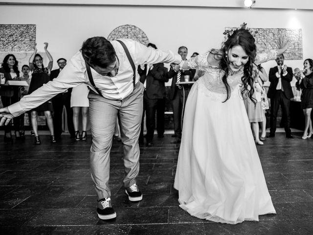 La boda de Pablo y Nora en El Escorial, Madrid 75