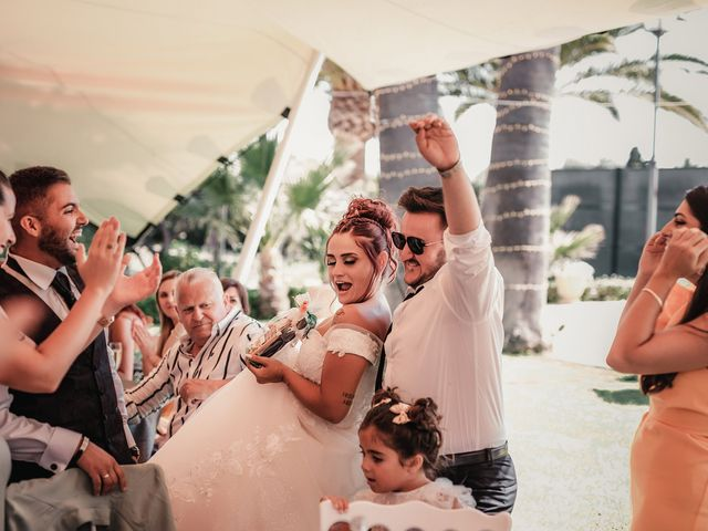 La boda de Lucas y Sandra en Mutxamel, Alicante 122