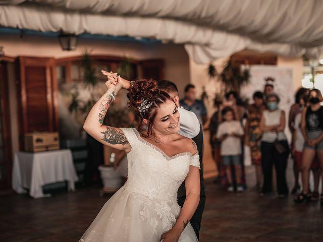 La boda de Lucas y Sandra en Mutxamel, Alicante 128