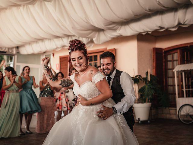 La boda de Lucas y Sandra en Mutxamel, Alicante 130