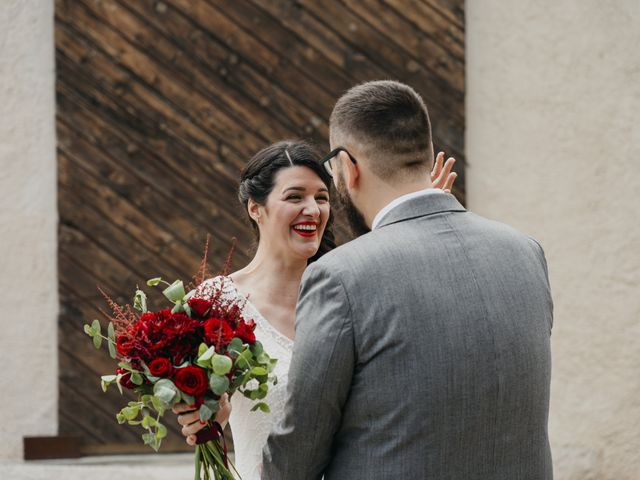 La boda de Dani y Ari en Monzon, Huesca 33