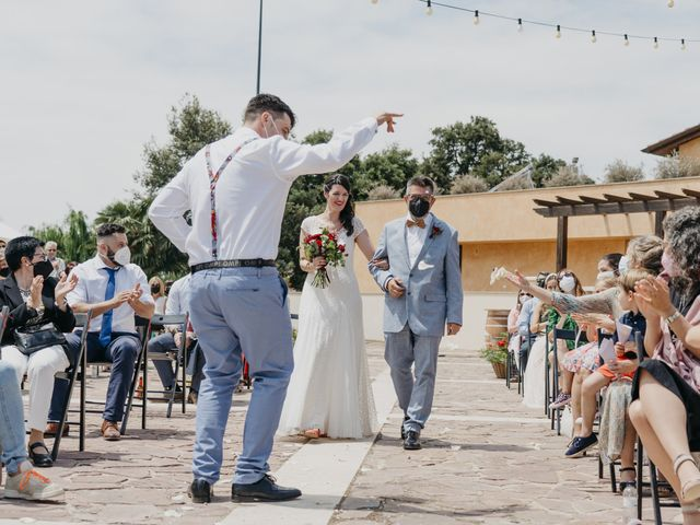 La boda de Dani y Ari en Monzon, Huesca 42