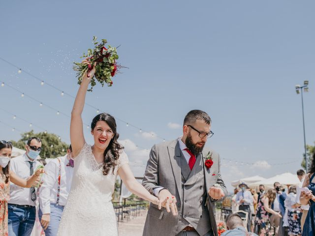 La boda de Dani y Ari en Monzon, Huesca 56