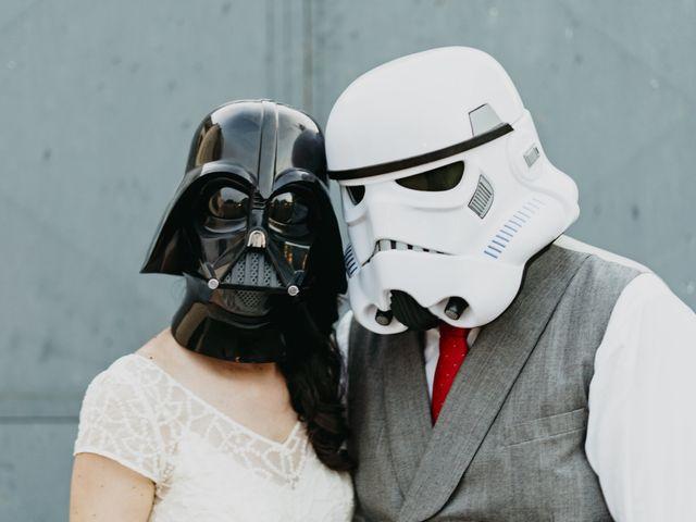 La boda de Dani y Ari en Monzon, Huesca 100