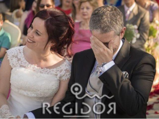 La boda de Angel y Vanesa en Logrosan, Cáceres 14