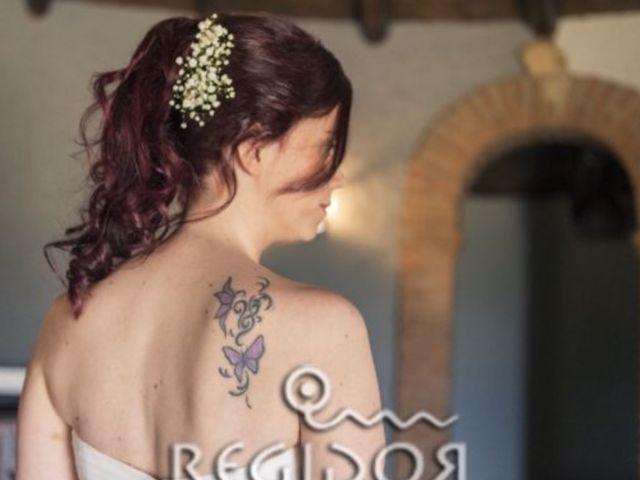 La boda de Angel y Vanesa en Logrosan, Cáceres 17