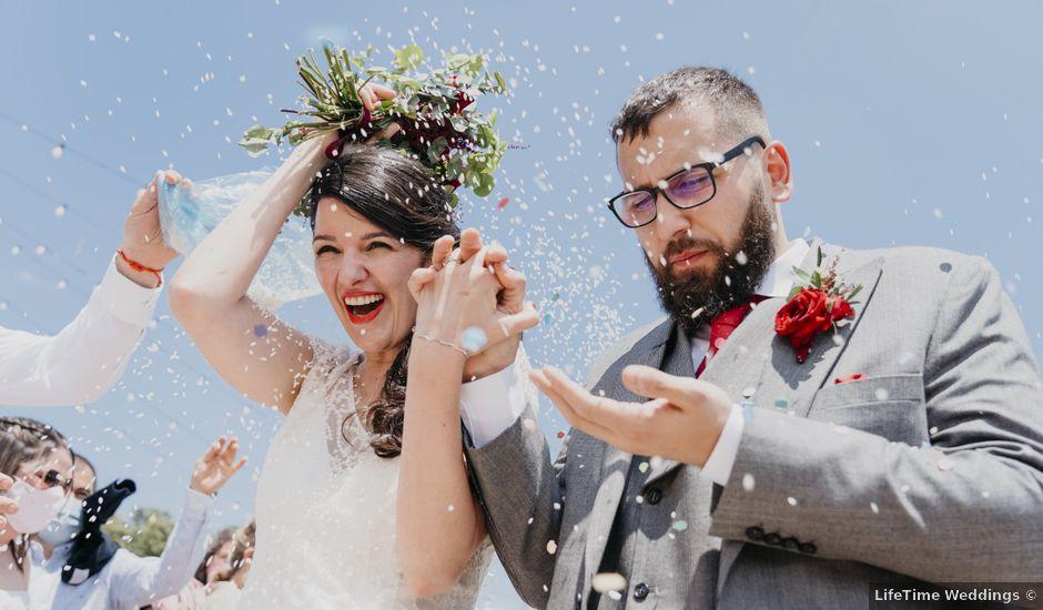La boda de Dani y Ari en Monzon, Huesca