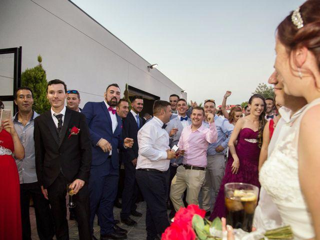 La boda de Borja y Yoana en Navahermosa, Toledo 42