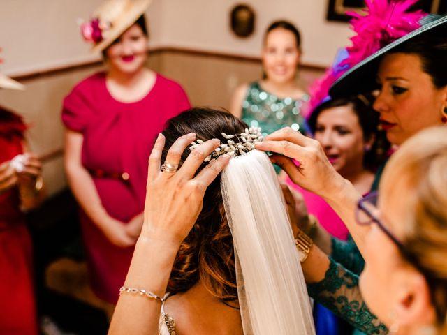 La boda de Alejandro y Beatriz en Garrovillas, Cáceres 13
