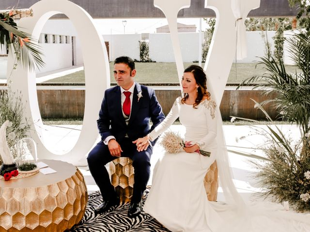 La boda de Alejandro y Beatriz en Garrovillas, Cáceres 17