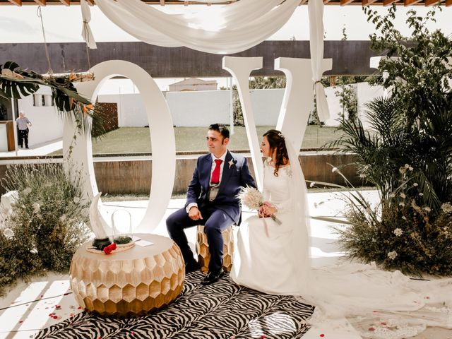 La boda de Alejandro y Beatriz en Garrovillas, Cáceres 18