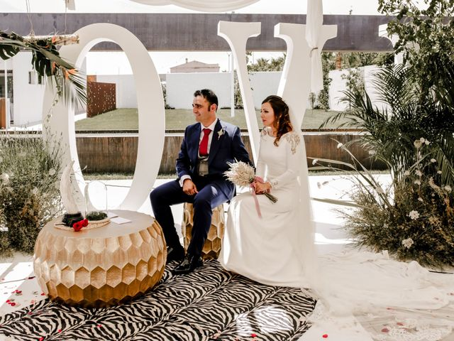 La boda de Alejandro y Beatriz en Garrovillas, Cáceres 19