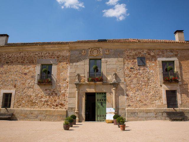 La boda de David y Carolina en Hoyuelos, Segovia 2