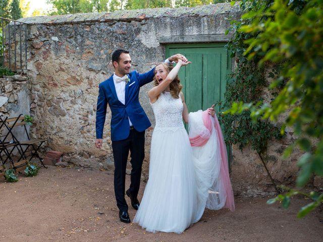 La boda de David y Carolina en Hoyuelos, Segovia 40