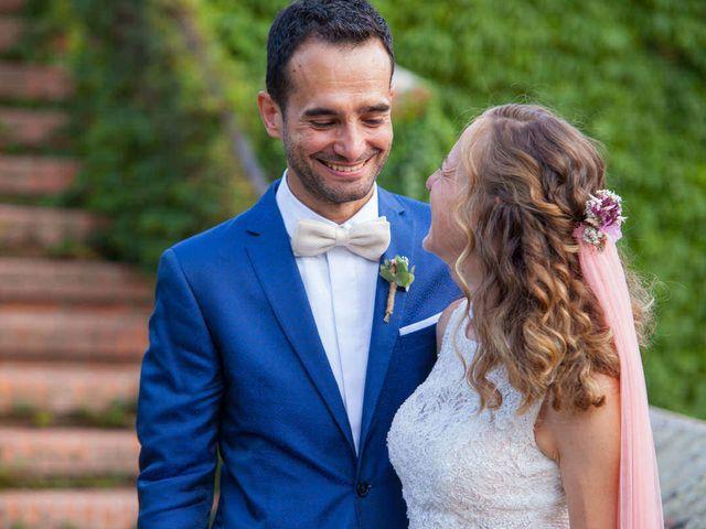 La boda de David y Carolina en Hoyuelos, Segovia 44