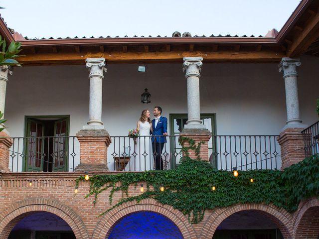 La boda de David y Carolina en Hoyuelos, Segovia 54