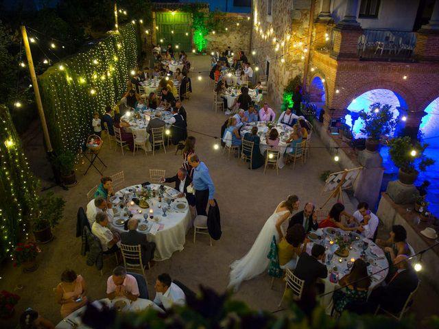 La boda de David y Carolina en Hoyuelos, Segovia 64