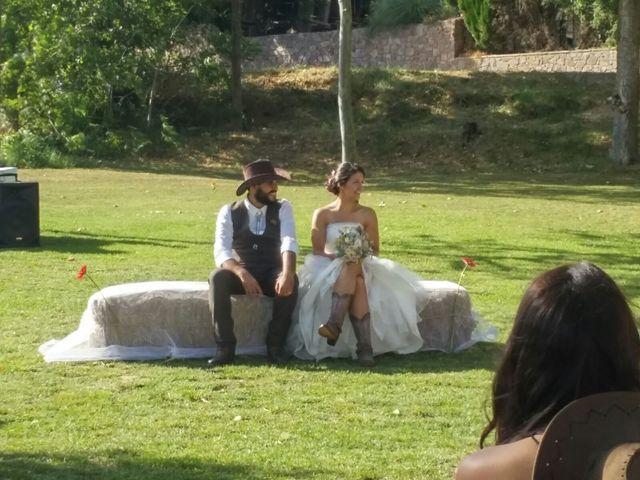 La boda de Johnny y Ada en Sant Quirze Safaja, Barcelona 4