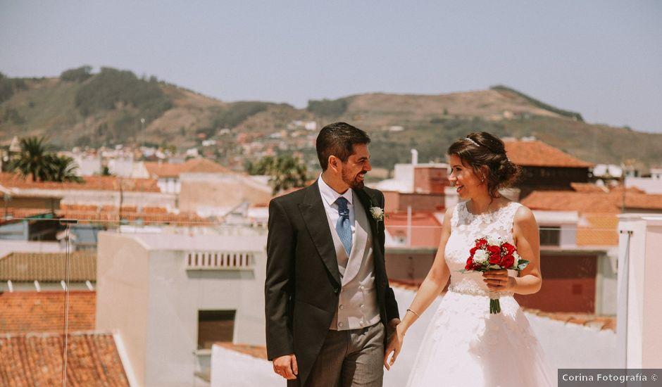 La boda de Josué y Miriam en San Cristobal, Santa Cruz de Tenerife