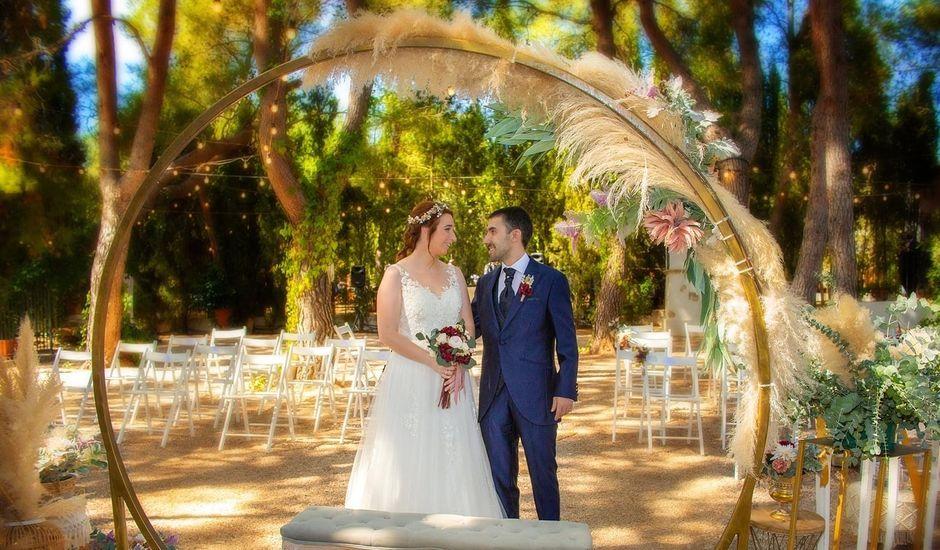 La boda de Antoni y Sara en L' Olleria, Valencia
