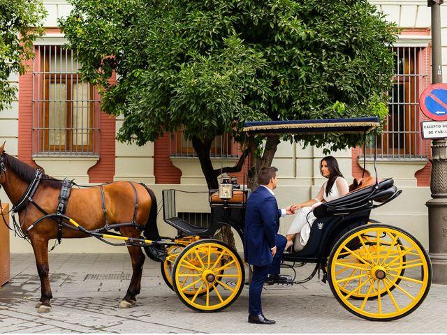 La boda de Mario y Tamara en Villanueva De La Serena, Badajoz 69