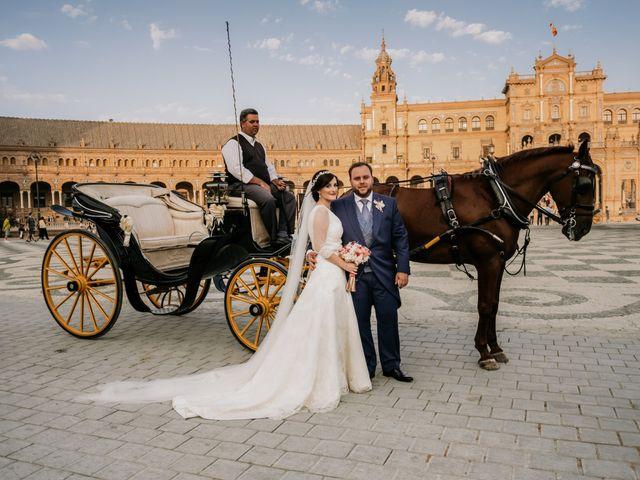 La boda de Christian y Natalia en Sevilla, Sevilla 46