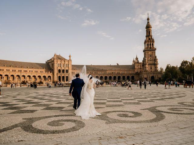La boda de Christian y Natalia en Sevilla, Sevilla 50