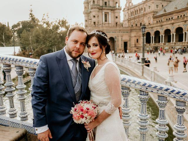 La boda de Christian y Natalia en Sevilla, Sevilla 53