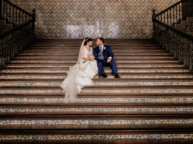 La boda de Christian y Natalia en Sevilla, Sevilla 55