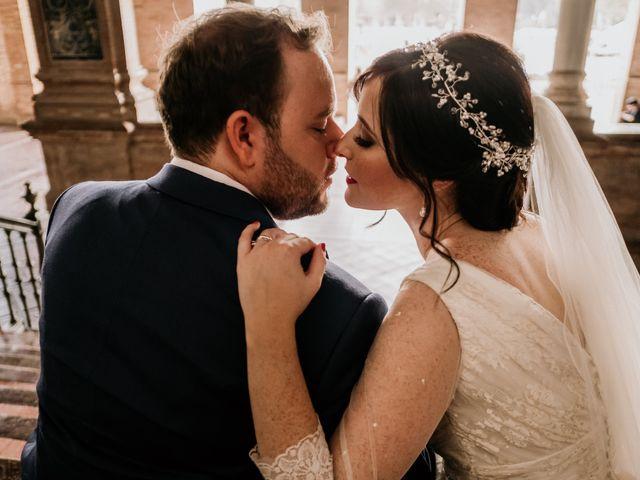 La boda de Christian y Natalia en Sevilla, Sevilla 57