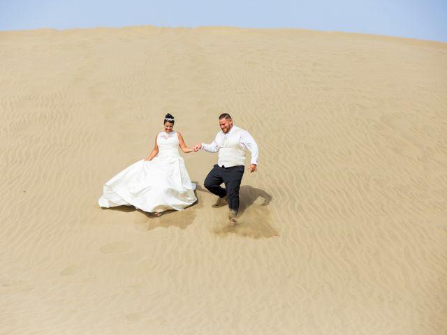 La boda de Jorge y Raquel en Telde, Las Palmas 2