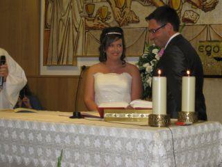 La boda de Isaac y María