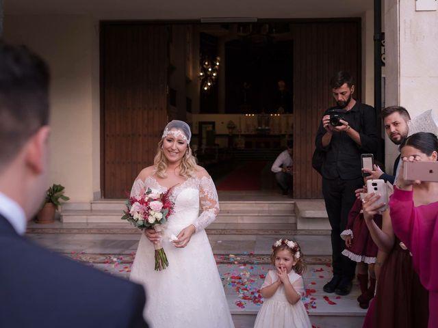 La boda de Jesús  y Verónica  en Málaga, Málaga 17