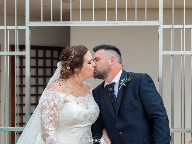 La boda de Juan y Mª Trini