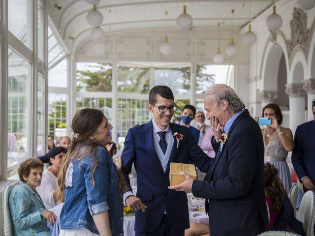 La boda de Ainhoa y Borja en Santander, Cantabria 38