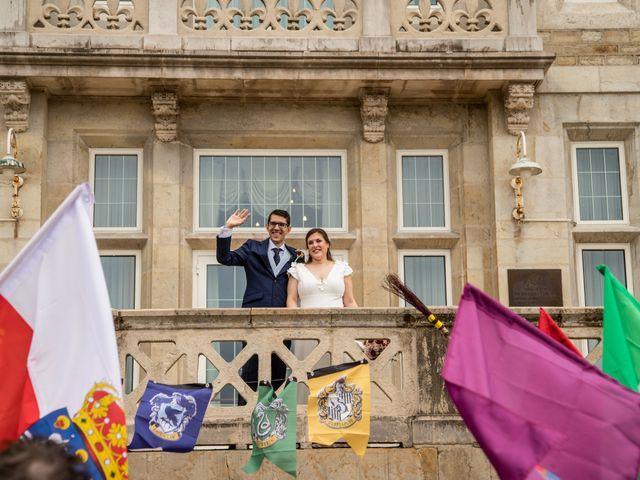 La boda de Ainhoa y Borja en Santander, Cantabria 25