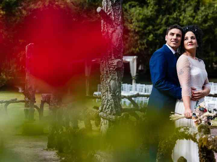 La boda de Sandra y Óscar