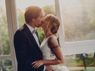 La boda de Ali y David