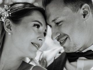 La boda de Martyna y Andreas