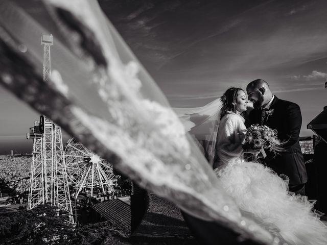 La boda de Cristina y Isi en Montcada I Reixac, Barcelona 1