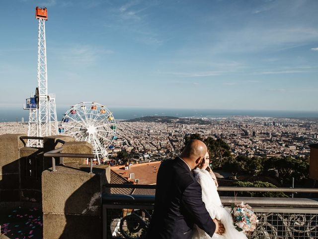 La boda de Cristina y Isi en Montcada I Reixac, Barcelona 30