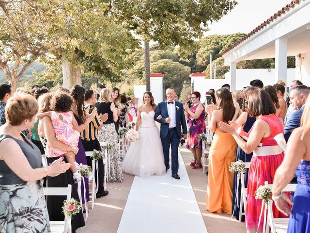 La boda de Albert y Ariana en Sant Cebria De Vallalta, Barcelona 9