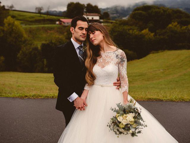 La boda de Carlos y Ane en Pueblo Zizurkil, Guipúzcoa 35