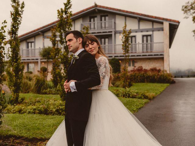 La boda de Carlos y Ane en Pueblo Zizurkil, Guipúzcoa 40