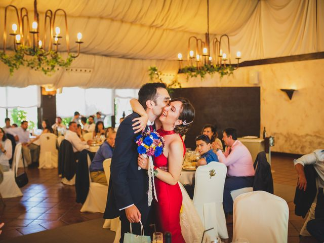 La boda de David y Cristina en El Molar, Madrid 216
