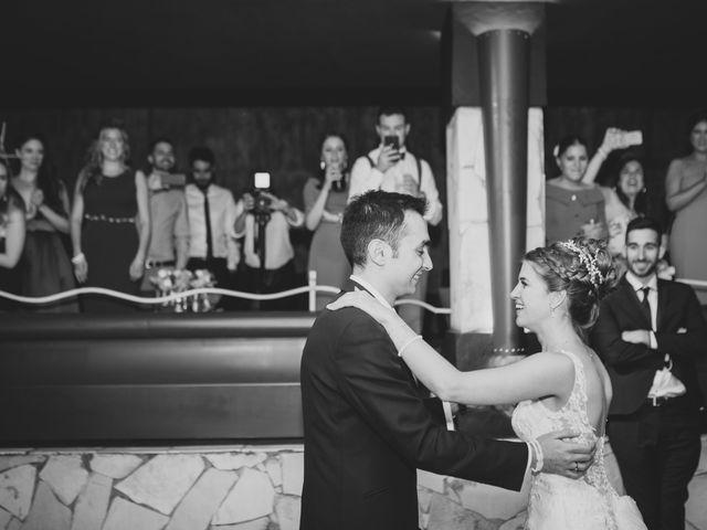 La boda de David y Cristina en El Molar, Madrid 246