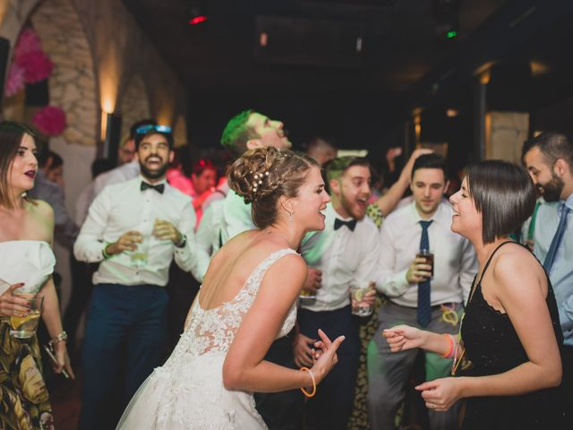 La boda de David y Cristina en El Molar, Madrid 260